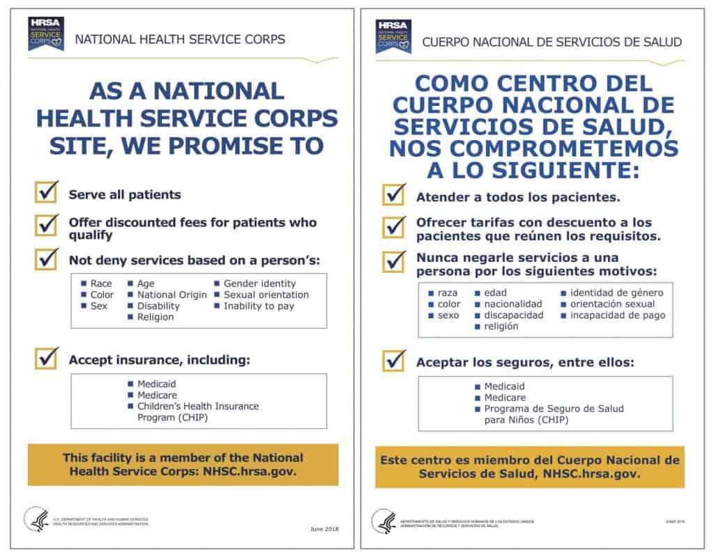 HRSA information, human resources