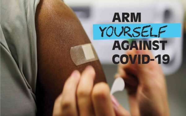 get tested for or vaxed against COVID-19